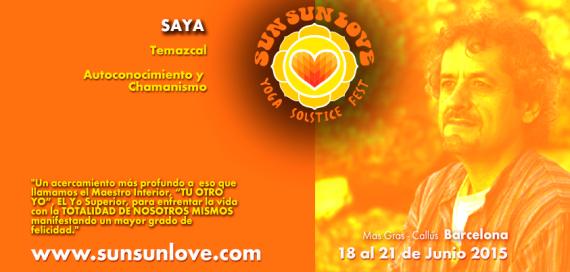 TEMAZCAL Y CONFERENCIA EN SUN SUN LOVE